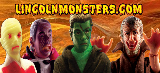 Monster Action Figures by Lincoln International Tribute Site